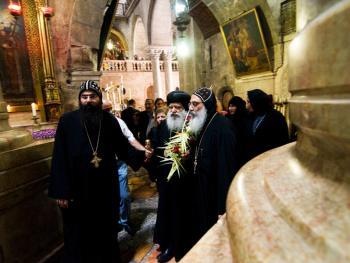 耶路撒冷圣象教堂的复活节
