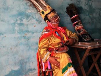 印第安人最后的面具节