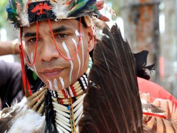 美洲印第安人日08