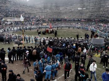湘西苗族椎牛祭祖