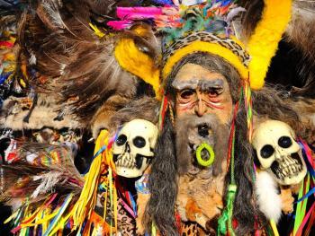玻利维亚奥鲁罗的狂欢节11