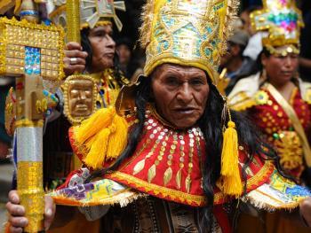 玻利维亚奥鲁罗的狂欢节