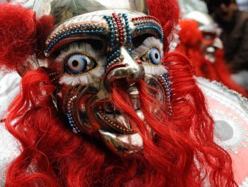 玻利维亚奥鲁罗的狂欢节02