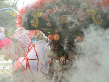 玻利维亚奥鲁罗的狂欢节07