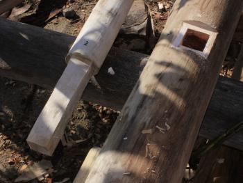 苏拉威西罗勃木屋的建造08