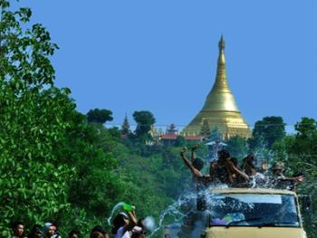 缅甸泼水节14