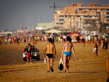 沙滩赛马01