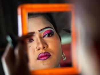 孟加拉国的传统马戏07