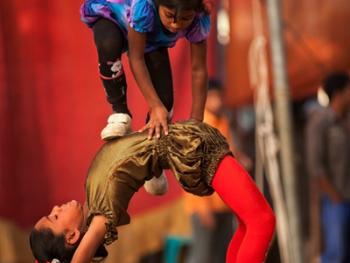 孟加拉国的传统马戏08