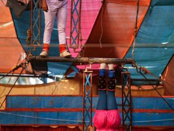 孟加拉国的传统马戏09