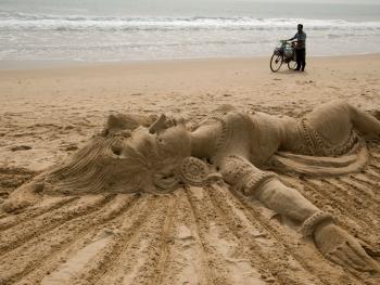 印度沙雕艺术11