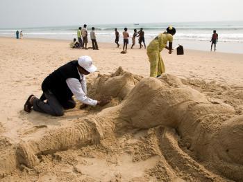 印度沙雕艺术02