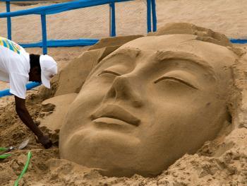 印度沙雕艺术03