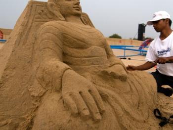 印度沙雕艺术05