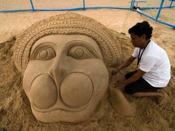 印度沙雕艺术06