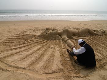 印度沙雕艺术07