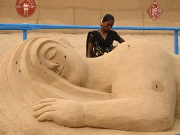 印度沙雕艺术08