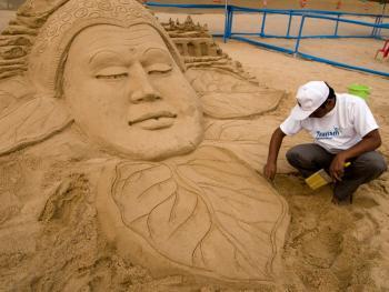 印度沙雕艺术09