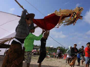 鸟形风筝表演赛04