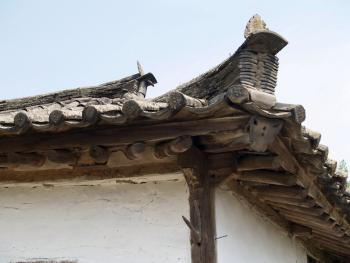 东北朝鲜族传统瓦房及瓦当05