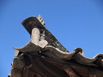 东北朝鲜族传统瓦房及瓦当06