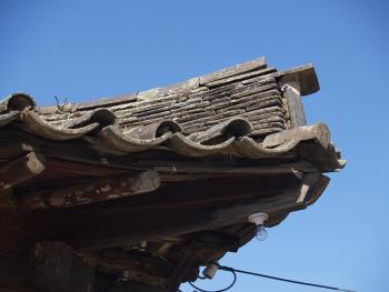 东北朝鲜族传统瓦房及瓦当07