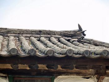 东北朝鲜族传统瓦房及瓦当12