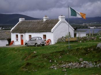 爱尔兰传统的石屋10
