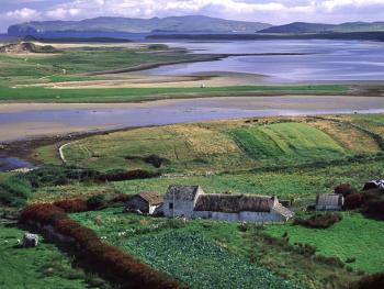 爱尔兰传统的石屋