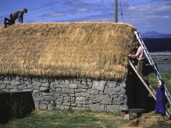 爱尔兰传统的石屋06