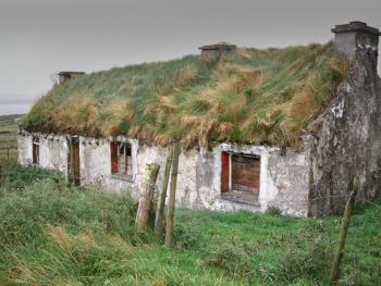 爱尔兰传统的石屋07