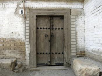 布哈拉古城的门14