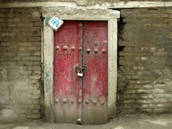 布哈拉古城的门03