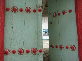 布哈拉古城的门04