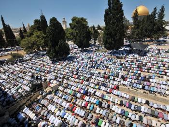 耶路撒冷的祈祷仪式