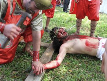 耶稣受难周表演09