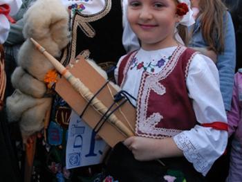 塞尔维亚小镇上的美食节13