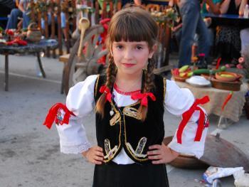 塞尔维亚小镇上的美食节14
