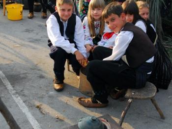 塞尔维亚小镇上的美食节07