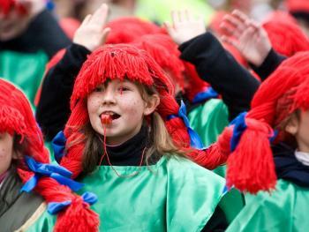 儿童狂欢节游行10