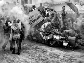 加拉西迪小镇的面粉大战