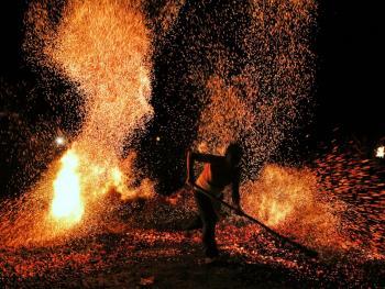 浙中山区的炼火13