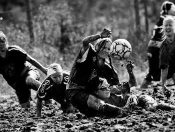 泥沼足球赛05