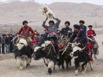 帕米尔高原叼羊08