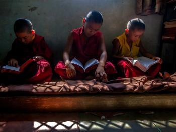 僧侣的学习10
