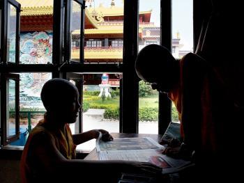 僧侣的学习11