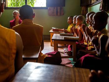僧侣的学习