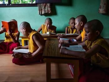 僧侣的学习03