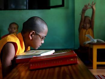 僧侣的学习05