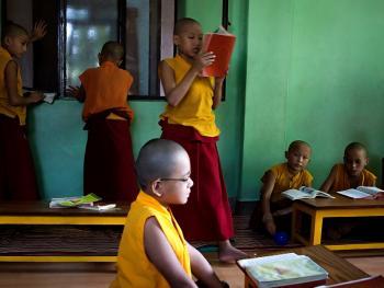 僧侣的学习07
